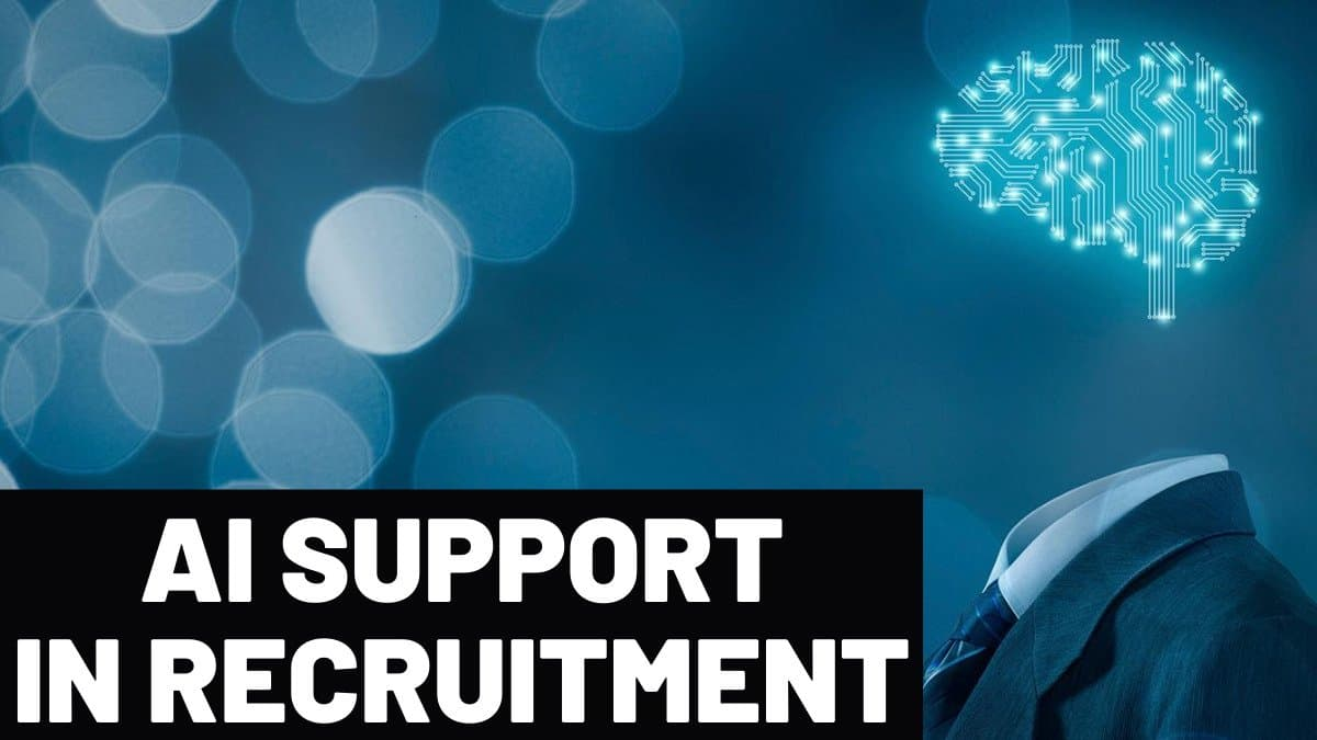 AI support in recruitment